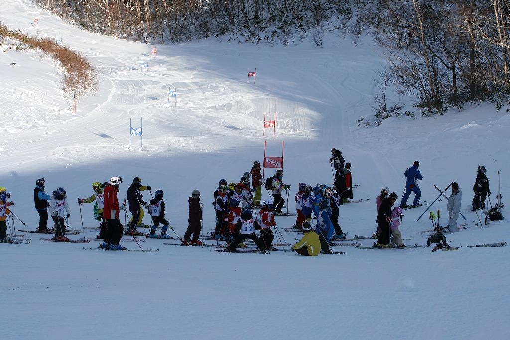 第18回ジュニアスキー大会スタート